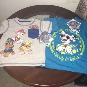 2 Shirts for  little boy new